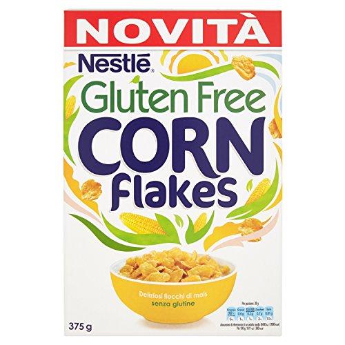 Nestlé Corn Flakes sans Gluten Céréales du Petit Déjeuner Paquet de 375 g