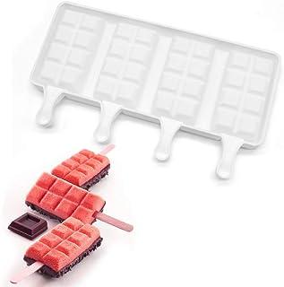 Silicon ice cream molds