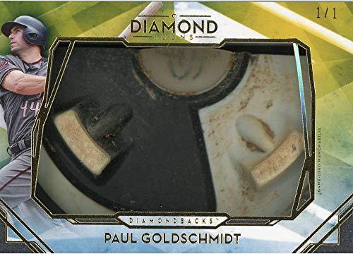 Paul Goldschmidt Arizona Diamondbacks 2020 Topps Diamond Icons Cleat Relic #PP-PGO #1/1 Card - Topps - Slabbed Baseball Cards