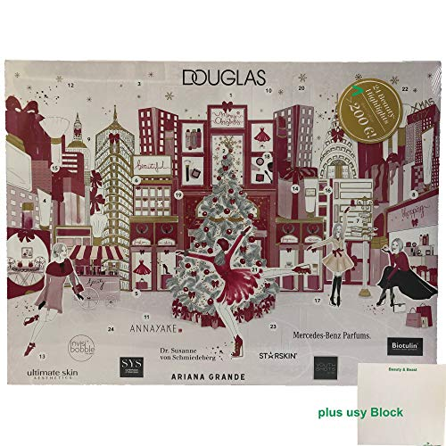 Douglas Adventskalender 2019-24 Beauty Highlights (1 stuks) plus usy Block