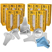 200 Ear Thermometer Covers Lens Filters Refill Caps for All Braun ThermoScan Models and Other Types of Digital Thermometers, BPA Free and Disposable Probe Covers