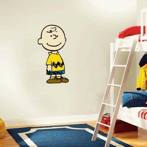 Snoopy Charlie Brown Cartoon Wall Decal Sticker 13'x 25'