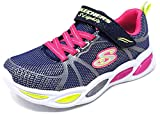 Skechers Shimmer Beams Sporty Glow Sneaker Kinder dunkelblau/pink, 36 EU