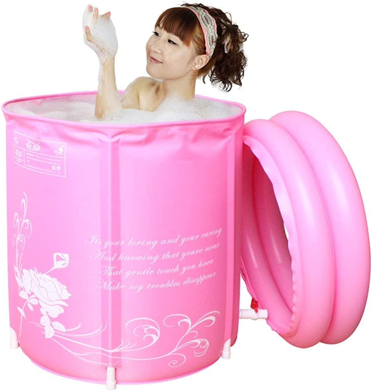 Bathtub, Pools Inflatable Environmental Folding Adult Bathtubs -Diameter 70  70cm Tub
