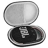 Estuche para JBL Clip 4 Altavoz Inalámbrico con Bluetooth Funda, Caso Cubrir de Organizador Portátil Rígido Bolsa de Almacenamiento para Caja Bolso de Viaje (Gray)