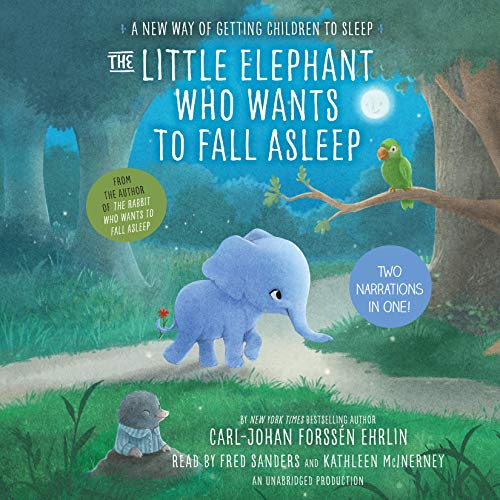 Page de couverture de The Little Elephant Who Wants to Fall Asleep