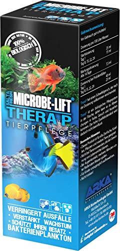 MICROBE-LIFT TheraP – Soin des Poissons bactéries de Nettoyage, prévient Les Maladies, stimule la Croissance des Poissons, Eau Douce et Eau de mer,
