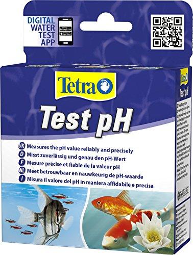 Tetra Test pH - Wassertest für Süßwasser-Aquarien und Gartenteiche, misst zuverlässig und genau den pH-Wert