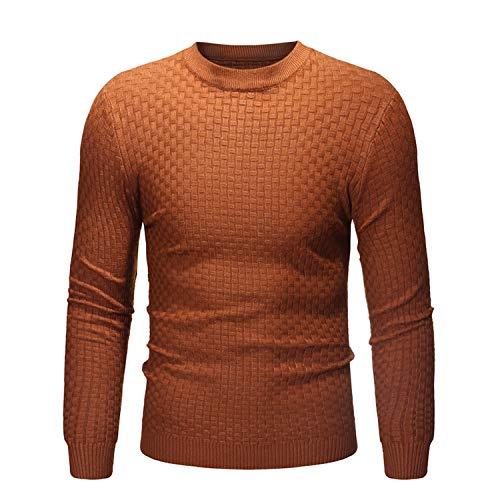 Sweater Plaid Dress Up Mens