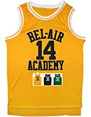 Micjersey Męska koszulka 'Will Smith' #14 The Fresh Prince of Bel Air Academy koszulka koszykówka S-XXXL