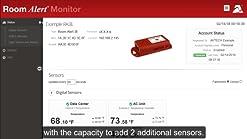 New Avtech Room Alert External Power Sensor Open Box