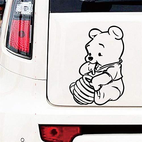 Winnie The Pooh Aufkleber Cute Pooh Auto Aufkleber für Autos Auto Styling Autofenster Bumper Truck Aufkleber Auto Aufkleber