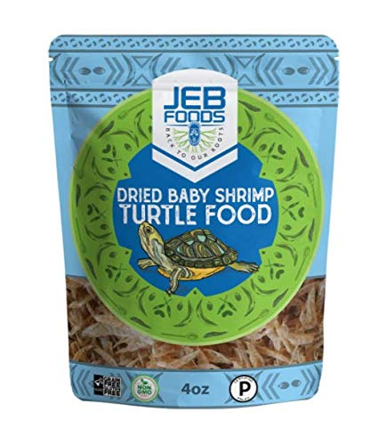 Dried Baby Shrimp,4oz Fresh Water excellent protein rich, aquatic Turtle & Fish food 4oz