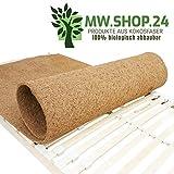 [page_title]-MW.Shop.24 Hochwertiger Kokosfaser für Lattenrost (90X200cm) - ATMUNGSAKTIVER/Anti-ALLERGISCH/GEGEN MILBEN Matratzenschoner - Schützende Matratzenunterlage - Made in EU