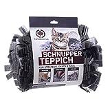 CanadianCat Company ® | Filz Schnupperteppich - Schnüffelmatte für Katzen in grau