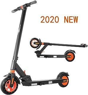 KUGOO Kirin S1 Patinete Eléctrico Scooter Plegable, Llantas Neumáticas, Motor De 500W, Modo De 3 Velocidades, Velocidad Máxima 25 Km/H, Adjustabe De Altura Apto para Adultos y Adolescentes