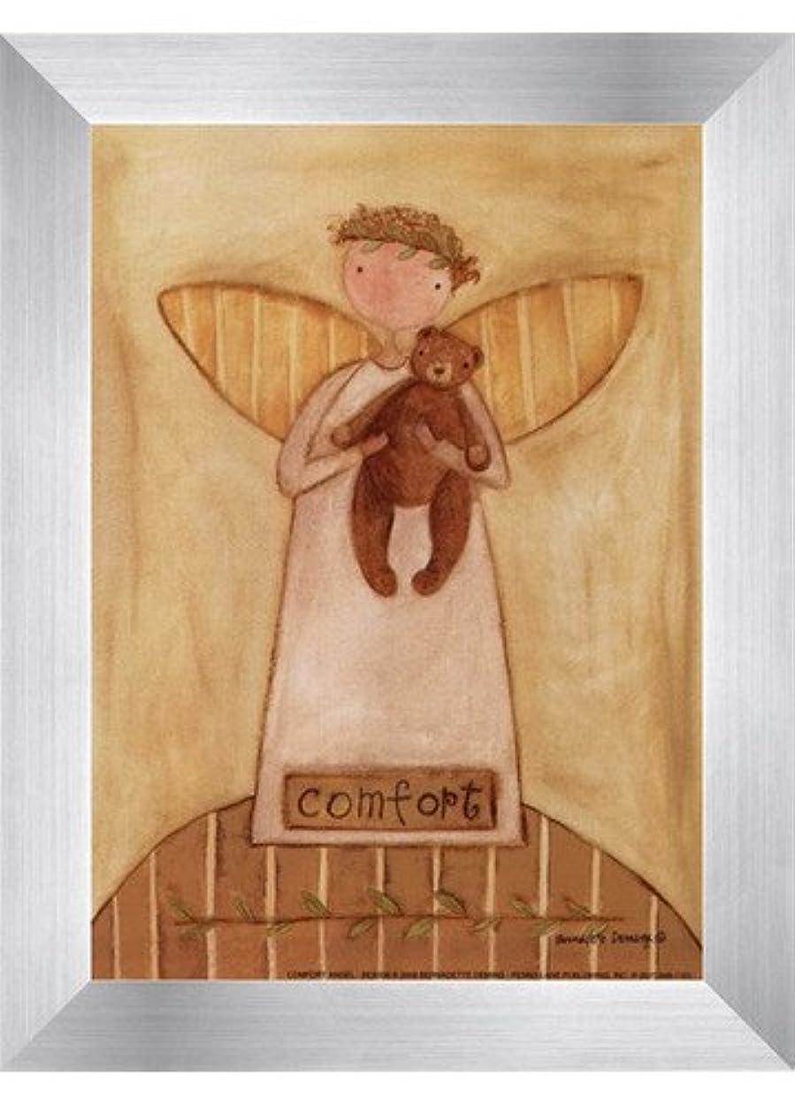 ラフレシアアルノルディ降下留め金快適Angel by Bernadette Deming?–?5?x 7インチ?–?アートプリントポスター LE_613850-F9935-5x7
