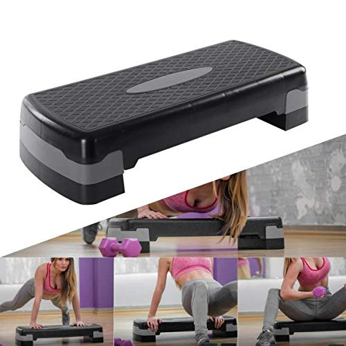SIGNATRON Fitness Stepper Board 2 Floor Aerobics Board Adjust Sports Bodybuilding Exercise Stepper Fitness Equipment