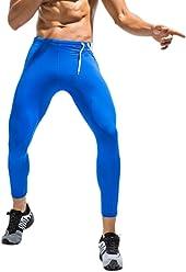 EUFANCE Uomini di Livello Base di Compressione Collant Pantaloni Fresco e Asciutto Sport Palestra Leggings Allenamento