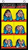 Scorpio Posters Stoned Agin by R Crumb Blacklight Reactive Fly Flag 3' x 5'