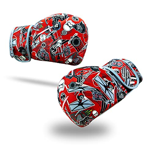 Sanabul Star Wars StickerBomb Boxhandschuhe (rot/grau, 227 g)