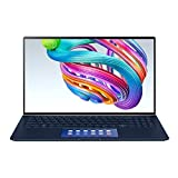 ASUS ZenBook UX534 Ultra HD 15.6 Inch 4K Laptop (Intel i7-10510U, NVIDIA GTX 1650 4 GB Graphics, 512 GB PCI-e SSD + 32 GB Intel Optane Memory, 16 GB RAM, ScreenPad, Backlit Keyboard, Windows 10)