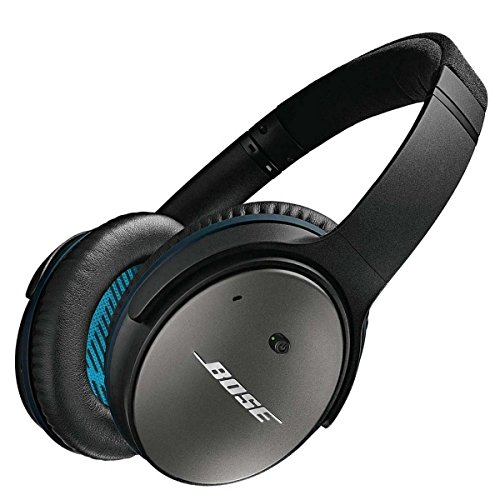 Bose QuietComfort 25 Casque Circum-aural à Réduction du Bruit - Apple - Noir