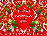 Pukka Tee Adventskalender, für die Weihnachtszeit mit Bio-Tee nach Ayurveda Tradition, 24 Teebeutel