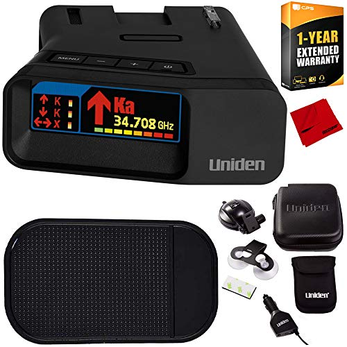 Find Bargain Uniden R7 Long Range Police Laser & Radar Detector with Arrow Alert Bundle with Slip-Fr...