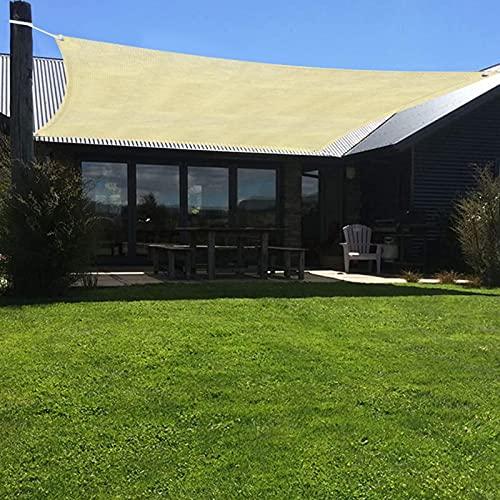 Pineapple Toldo rectangular, toldo de 95 bloques UV, perfecto para patio al aire libre, jardín, pérgola, terraza, piscina, 2 x 1,6/4 x 1,6 m