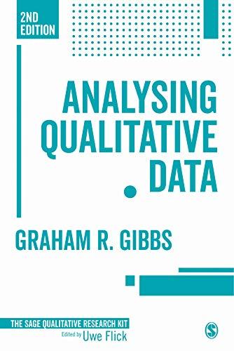 Analyzing Qualitative Data (Qualitative Research Kit Book 6) (English Edition)
