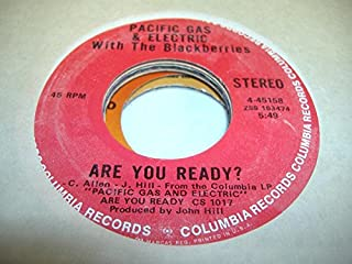 PACIFIC GAS & ELECTRIC PG&E 45 RPM Are You Ready? / Staggollee