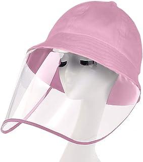IWNTWY Kids Sun Hat Outdoor UV Protection Wide Brim Summer Sunhat Bucket Cap for Boy Girls