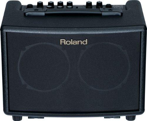 Roland AC-33 Acoustic Chorus Battery-powered 30-Watt Guitar Amplifier, Black