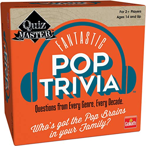 Goliath Quizmaster Pop Trivia : Questions from Every Genre Every Decade 5quot B07GRDMNG1