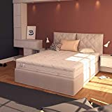 Baldiflex - Materasso Matrimoniale Molle Insacchettate 700 Molle, Cuscino/i Saponetta Silver Safe, 160x190cm
