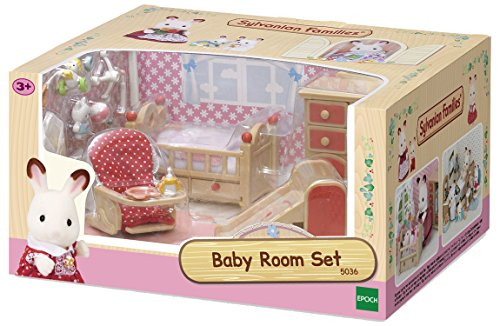 SYLVANIAN FAMILIES- Baby Room Set Mini muñecas y Accesorios, Multicolor (Epoch para Imaginar 5036)