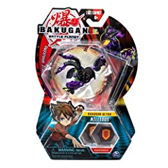 BAKUGAN ULTRA FIGURE: Roll this 3 inch tall Bakugan Ultra across the 2 included BakuCores & it will transform with Leap Open Baku Action, picking up & revealing the hidden power! For ages 6 & up ROLL INTO ACTION: Roll your Bakugan collectible figure ...