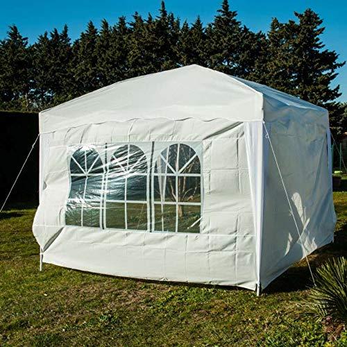 Keynice Côté de Tente Pliable 8914-Cotés Pliale-Lot de 2-Mur Blanc-Toile Polyester Adulte Unisexe, 42 X 30 X 4,00 cm