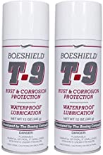 BOESHIELD T-9 Rust & Corrosion Protection/Inhibitor and Waterproof Lubrication, 12 oz. (Тwo Рack)