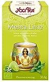 Yogi Tea Infusión de Hierbas Menta Lime - 17 bolsitas