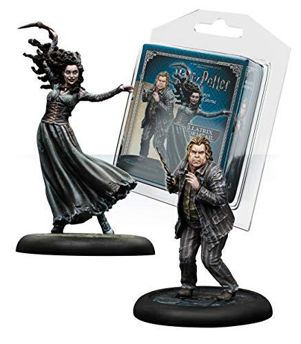 Knight Models Juego de Mesa - Miniaturas Resina Harry Potter Munecos Bellatrix & Wormtail, version inglesa