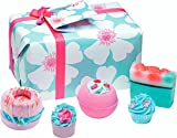Bomb Cosmetics Sky High Handmade Wrapped Bath and Body Gift Pack, Contains 5-Piece, 380 g