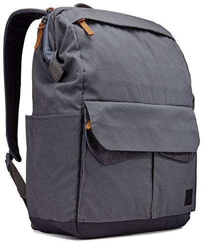 Case Logic LoDo Medium Daypack Rucksack für Notebooks bis 35,6 cm (14 Zoll) Graphite Grey
