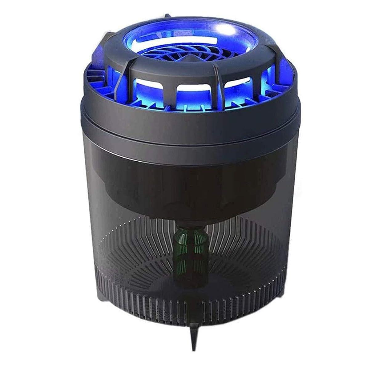 バルーン成果ブリッジモスキートランプバグ電気フライキラーダブルエアダクトは息インテリジェント光センサーをキャッチ蚊を強化します