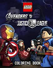 LEGO Avengers VS Justice League coloring book: For kids ages 5-9