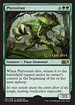 Magic The Gathering - Phytotitan  191/269  - Prerelease & Release Promos - Foil