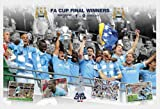 Manchester City - FA Cup Winner 10/11 - Sport Poster