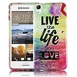 thematys Passend für HTC Desire 728G LIVE The Life Silikon Silikon Schutz-Hülle weiche Tasche Cover Case Bumper Etui Flip Smartphone Handy Backcover Schutzhülle Handyhülle