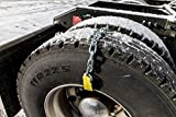 Get-Go Tire - Emergency Mud/Snow Traction Device for Semi's 4pc's